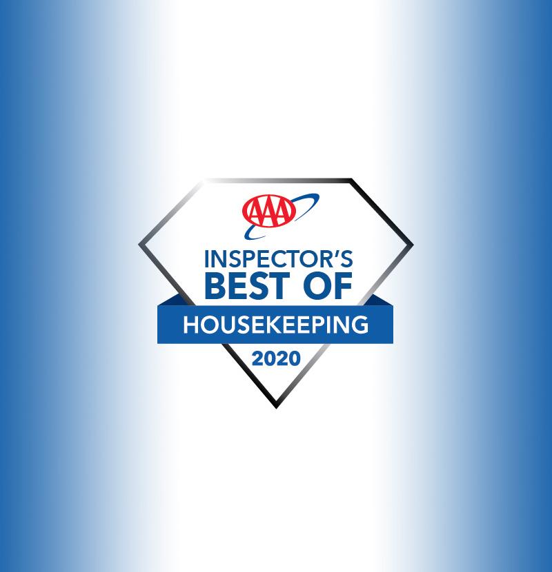 AAA Best of Housekeeping Award - Victoria Regent Hotel, Victoria