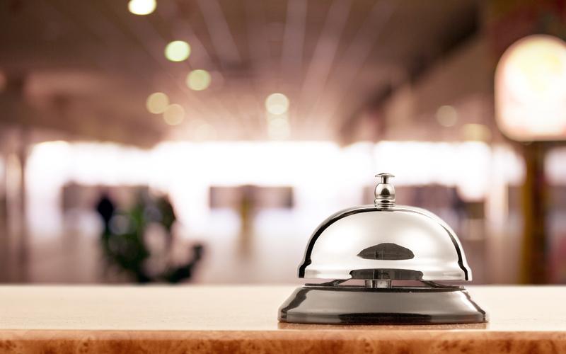 Desk Bell - Victoria Regent Hotel, Victoria