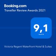 Booking Award - Victoria Regent, Victoria B.C.