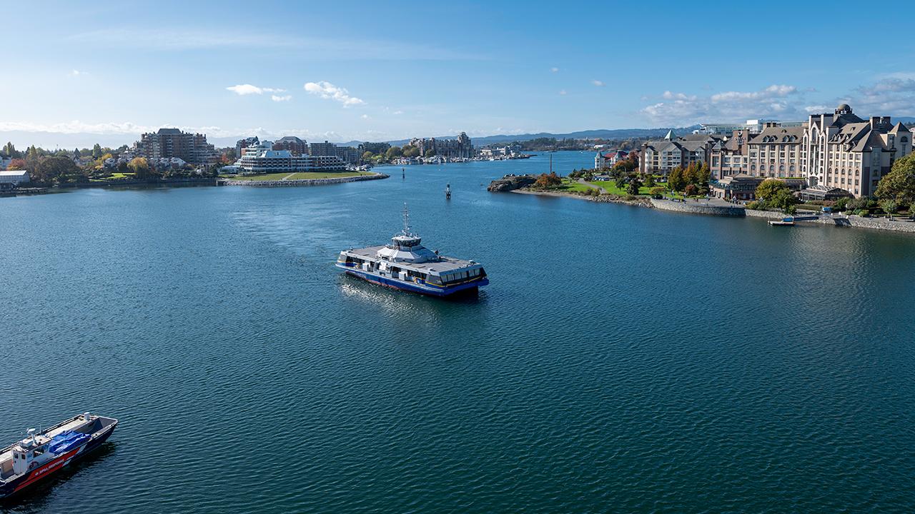 Harbour Ferry - Victoria Regent Hotel, Victoria