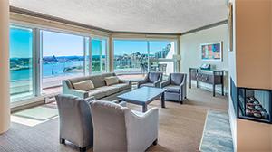 Living Room - Victoria Regent, Victoria B.C.