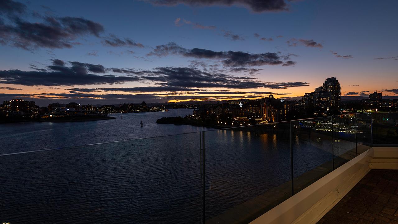Balcony View - Suite 800 at Victoria Regent Hotel